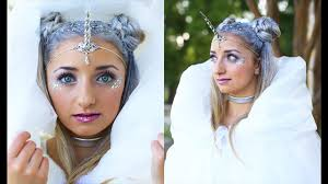 unicorn half up hairstyle diy halloween costumes cute girls