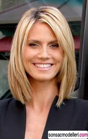 medium length hairstyles for women over 40 with bangs 25 perfect haircuts for women over 40 heidi klum pinterest