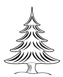 christmas tree coloring page wallpapers9