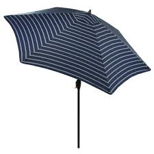 Deck Umbrella Replacement Canopy by Hampton Bay 9 Ft Steel Crank And Tilt Patio Umbrella In Ruby