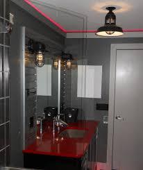 Industrial Bathroom Lights Industrial Bathroom Lighting Alluring Looking Light Fixtures