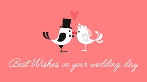 Wedding Day Greetings Best Wishes On Your Wedding Day Ecards 04 Youtube