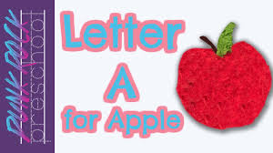 letter a for apple best letter crafts for kids fun letter