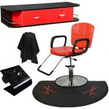 Floor Mats For Salon Chairs Contemporary Red All Purpose Hydraulic Cutting U0026 Shampoo Salon