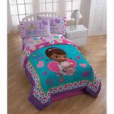 Doc Mcstuffins Toddler Bed Set Disney Doc Mcstuffins And Bedding Comforter Walmart