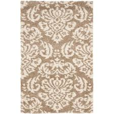 Rust Shag Rug Home Decorators Collection Rugs Flooring The Home Depot