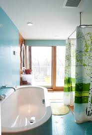 Bathtub Curtains Marimekko Shower Curtains Bathroom Contemporary With Tree Shower