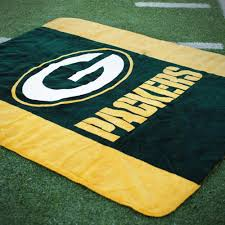 Green Bay Packer Flag Green Bay Packers Luxury Nfl Blankets U0026 Throws Made In The Usa