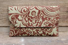 Eco Friendly Upholstery Deja Renew Repurposed Textiles Eco Friendly Clutch Purse