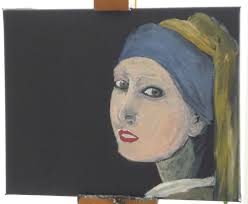 vermeer girl with pearl earring painting in the mood for vermeer girl with a pearl earring part i