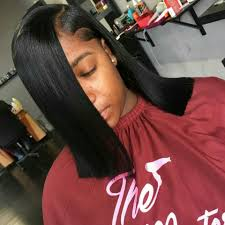 blunt cut slayed by theslay master wanna mimick this style