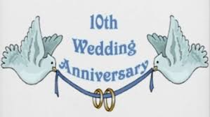 10th wedding anniversary 10th wedding anniversary quotes newlyweds become oldyw