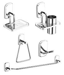 bathroom accessories dazzle bathroom accessories set stainless steel bathroom set pack