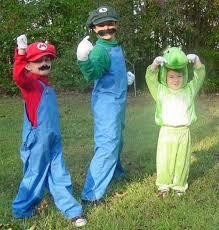 Halloween Costumes Luigi Yoshi Mario Halloween Costumes Sprite Stitch