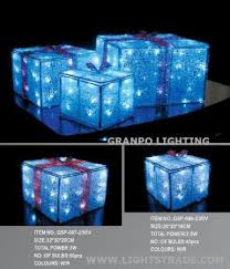 christmas present light boxes led christmas light ip44 outdoor indoor decoration 3d acrylic