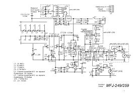 mfj 249 259 schematic diagram radioaficion ham radio