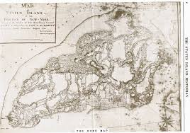 Map Staten Island The Revolutionary War In Richmond County New York The General
