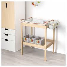 Baby Change Table Sniglar Changing Table Beech White 72x53 Cm Ikea