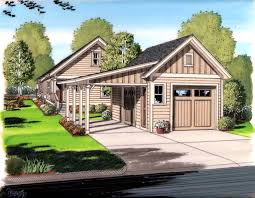 apartments pleasant detached garage house plans breezeway