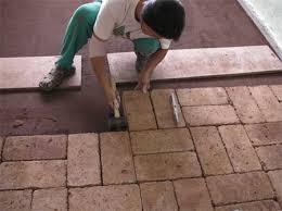how to lay tiles floor