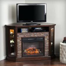 rustic electric fireplace insert redden corner convertible