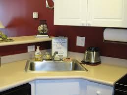Corner Kitchen Sink Cabinets Kitchen Corner Kitchen Sink With10 Trendy Corner Kitchen Sink