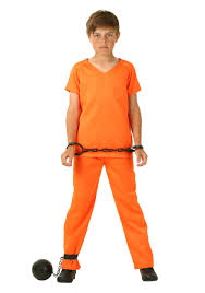 Boy Costumes Boy U0027s Orange Prisoner Costume