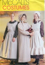 thanksgiving aprons free us ship sewing pattern mccall u0027s 9423 misses costume