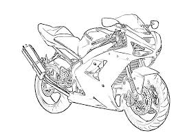 zx6r outline for coloring kawiforums kawasaki motorcycle forums