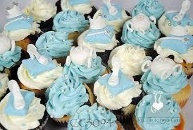 cinderella cupcakes cc3094 cinderella blue white birthday cupcakes toronto a photo