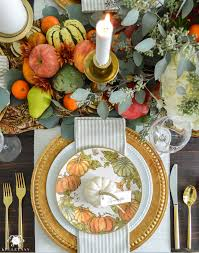a traditional thanksgiving table with pottery barn kelley nan