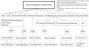 common organizational structures boundless management