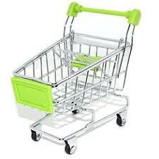 Mini Shopping Cart Desk Organizer 1pcs Mini Shopping Cart Desk Organizer Supermarket Phone Pen Toy