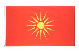 Flag Of Macedonia Macedonia Old 1992 1995 3x5 Ft Flag 90x150 Cm Royal Flags