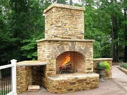 Backyard Fireplace Ideas How To Make Outdoor Fireplace Tips U2014 Home Fireplaces Firepits