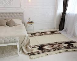 Mini Pebble Wool Jute Rug Scandinavian Rug Etsy