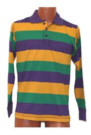 mardi gras polo shirts men mardi gras style t shirt w sleeve pocket collar medium size