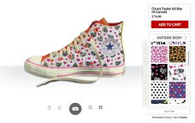 design your shoes design your own converse configurator converse