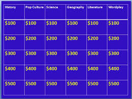 jeopardy powerpoint template 2007 bountr info