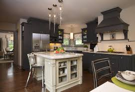 Kitchen Island Brackets Pendant Lighting Grey Kitchen Island Modern Home In Hampshire