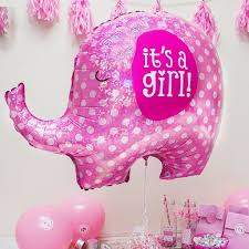 it u0027s a pink elephant baby shower party 32