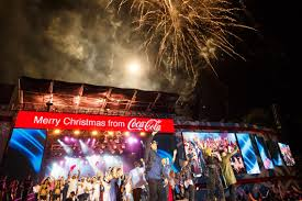 auckland coca cola christmas in the park coca cola