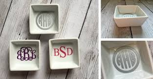 Monogramed Jewelry Monogrammed Jewelry Dish 6 99 From 10
