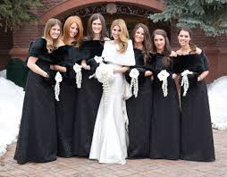 winter bridesmaid dresses bridesmaid dresses for winter weddings inside weddings