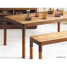 mahogany dining table roost recycled mahogany dining table modish store