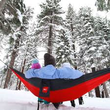 hammock camping in cold weather hiking camping guide