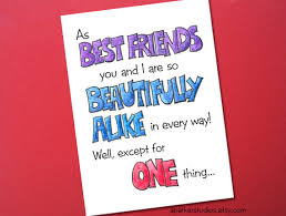 birthday card for best friends items similar to best friends birthday card birthday card for