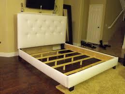 Upholstered Headboards And Bed Frames Tufted Headboard Bed U2014 Derektime Design How To Make A Tufted Bed