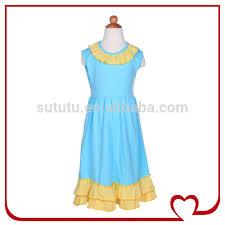 china yiwu wholesale girls cotton summer dresses fashion dresses