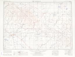 Turkestan Map Western Siberia Ams Topographic Maps Perry Castañeda Map